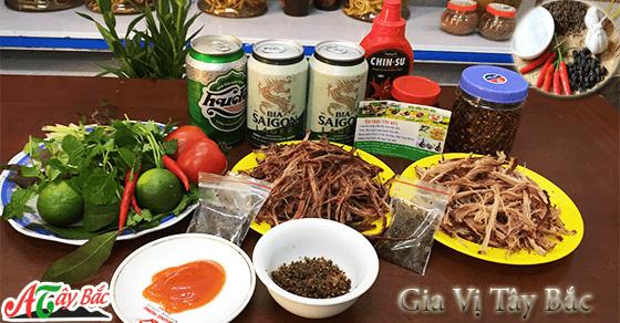 Hướng dẫn cách chế biến thịt Trâu gác bếp theo đúng chuẩn vị Tây Bắc