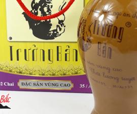 Rượu Ngô Trưởng  Bản Mộc Châu